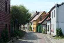 Gasse in Barth